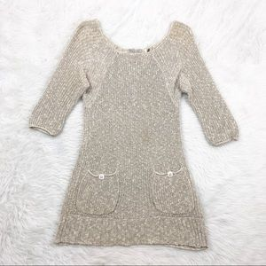 Free People Grey Knit Dress